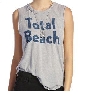 Lucky Brand sleeveless t shirt. Total beach xl